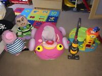 Kids toys - and pink baby go go car