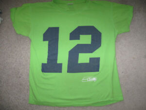 Seattle Seahawks Fan T-shirt + bonus tank top shirt-$5 lot
