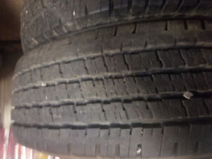 4x Lt 245/75r16 hancook dynapro as