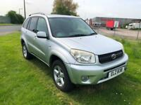 55 REG TOYOTA RAV4 2.0 VVT-i XT-R-AUTOMATIC-FULL LEATHER-COLD AIR CON