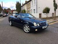 Mercedes-Benz, CLK 230 Kompressor, Convertible, 1999, Auto, Elegance, Petrol, Blue, 82k Miles