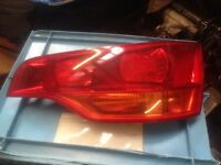 Audi Q7 drivers side rear light