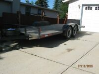 Truck and trailer heading from Alberta to Maritimes