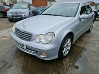2006 Mercedes-Benz C Class C220 CDI Classic SE AUTOMATIC, MOT 03/01/2022, SALOO