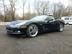 Corvette C6 convertible Z51 package manuelle 6 vit.