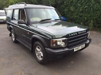 2001 y reg land rover discovery td5 gs auto
