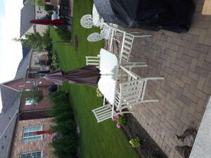For sale patio table set