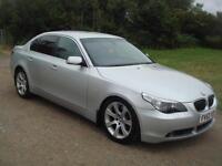 BMW 545 4.4 auto 2003MY i SE, DVD, SAT NAV, F.S.H, IMMACULATE, 109K