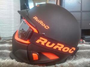 Casque/Helmet RUROC RG1-DX BLACK NOVA