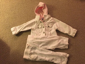 Long sleeves baby outfit