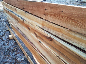 Cedar 6x6 fence posts or landscape timbers