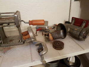Old Antique furniture and appliances