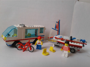 RARE LEGO 6351 Surf N' Sail Camper Town Classic VTGComplete