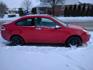 2008 Ford Focus Coupe & 2 Sets Tires