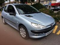 Peugeot 206 1.1 8v 2004MY Fever WARRANTY INCLUDED WITH M.O.T