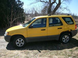 2002 Ford Escape 5 speed