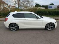 JUST IN BMW 114I SPORT , LOW MILES 55,000, MOT 19/05/21 FSH , ALLOYS , 2 KEYS