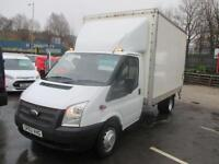 2012 62 FORD TRANSIT 2.2 350 DRW 125 BHP LUTON WITH TAIL LIFT EX N.H.S FULL DE