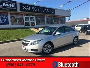 2014 Chevrolet Cruze 1LT   SIRIUS, BLUETOOTH, POWER GROUP, REMOT