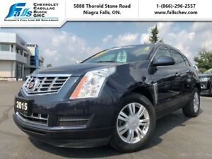 2015 Cadillac SRX Luxury  AWD,SUNROOF,LEATHER,BLIND ZONE,REARCAM