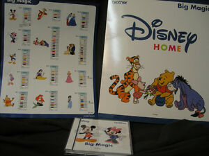 Brother Disney Embroidery Card