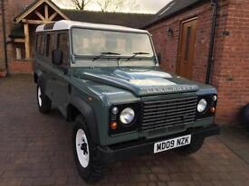 2009 Land Rover 110 Defender 2.4TDCI Station Wagon * F.S.H + Low Mileage *