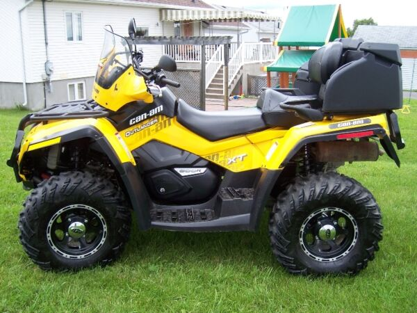 Used 2009 Bombardier can am outlander max 800r xt 2009