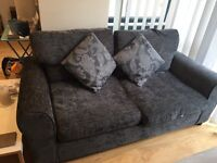 Great condition dark grey sofa bed two seater