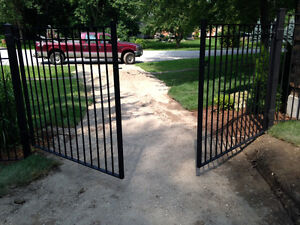Wrought Iron Metal Solid Fence Panels, Railings, Gates London Ontario image 5