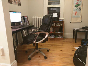 Bedroom & Private Office in Beautiful Downtown Apartment