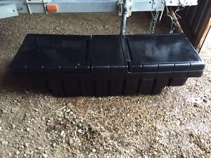 Black Plastic Tool Box