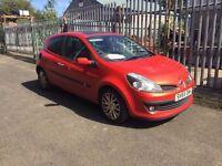 55 plate Renault Clio 1.4 petrol, orange 3 door spent £440 on its mot today !!!!!