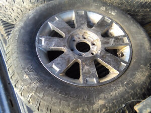 F150 & Lincoln LT set of 4 alloys & 275/65R/18 tires