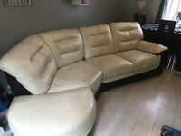 Corner sofa 1year old