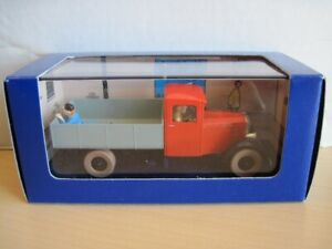 Tintin en voiture, Le Camion Rouge Miesse 1933 , no. 36 , neuf