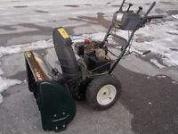 30 inch 10.5 HP Yardworks Snowblower for sale - SOLD