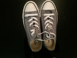 BRAND NEW - Never Worn Grey Converse for SALE!