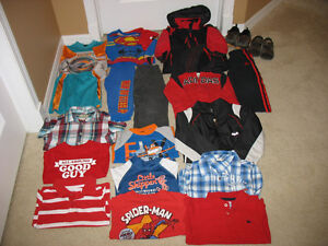 Boys Children's Place Winter Jacket and Box FULL of Clothes Regina Regina Area image 1