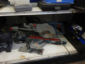 miter and table saws  at the 689r new and used tool store