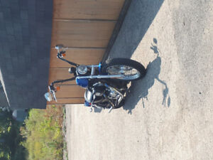 2007 sportster 883low for sale or trade for camper plus cash