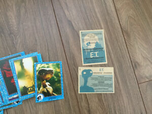 E.T. ( The Extra- Terrestrial) 1982 cards
