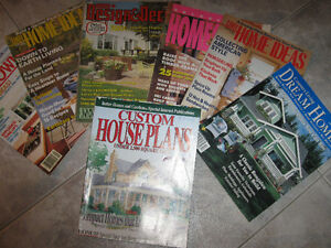 ...Bundle of Mag.'s With IDEAS for House Building and Designing.