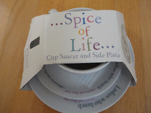 Spice of Life Ladies who lunch Tea and Saucer set Brand New