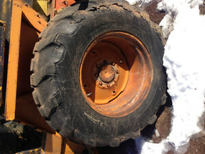 Looking for backhoe tire