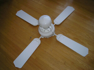 45 Inch Diameter Ceiling Fan and Light.