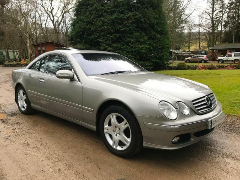 2004my Mercedes Benz Cl500 Cl 500 Top Of The Range Luxury Coupe Facelift Model
