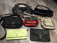 Selection of women's bags