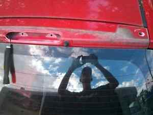 Kia Spectra 5 red rear door hatch Windsor Region Ontario image 2