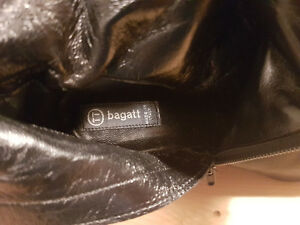 Bagatt Vero Cuoio Boots Size 37 1/2 Made in Italy