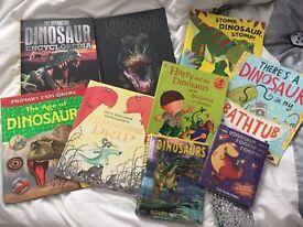 Dinosaur book bundle